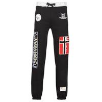 Textil Muži Teplákové kalhoty Geographical Norway MYER Černá