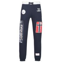 Textil Muži Teplákové kalhoty Geographical Norway MYER Tmavě modrá