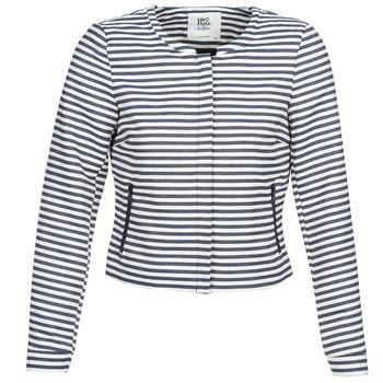 Textil Ženy Saka / Blejzry Vero Moda MALTA Tmavě modrá / Bílá