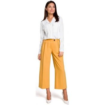 Textil Ženy Šaty Style S139 Cullotes - žlutá