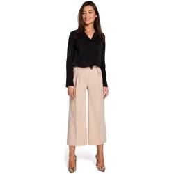 Textil Ženy Šaty Style S139 Cullotes - béžová