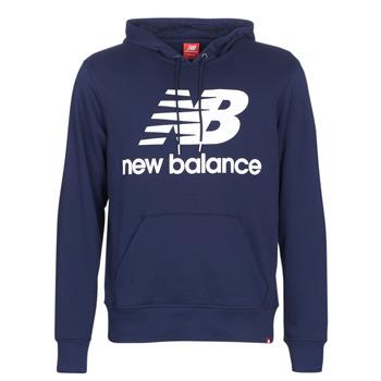 Textil Muži Mikiny New Balance NB SWEATSHIRT Tmavě modrá