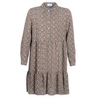 Textil Ženy Krátké šaty Betty London JECREHOU Béžová / Hnědá