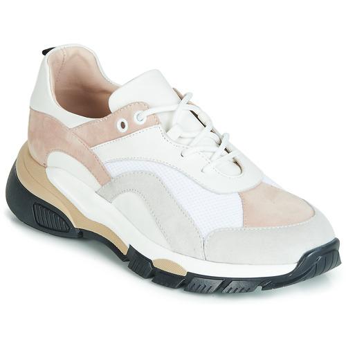 Boty Ženy Nízké tenisky Tosca Blu KELLY Bílá / Béžová
