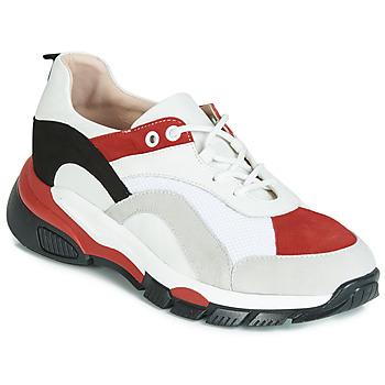 Boty Ženy Nízké tenisky Tosca Blu KELLY Bílá / Červená