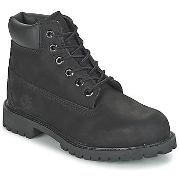 Boty Chlapecké Kotníkové boty Timberland 6 IN CLASSIC Černá