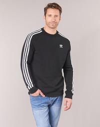 Textil Muži Mikiny adidas Originals 3 STRIPES CREW Černá