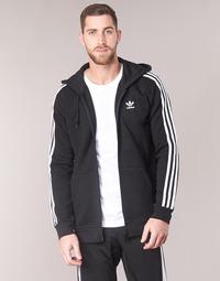 Textil Muži Mikiny adidas Originals 3 STRIPES FZ Černá