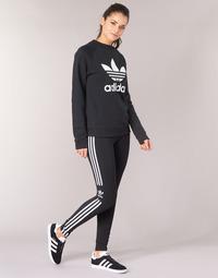 Textil Ženy Legíny adidas Originals TREFOIL TIGHT Černá