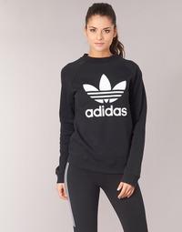 Textil Ženy Mikiny adidas Originals TRF CREW SWEAT Černá