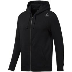 Textil Muži Mikiny Reebok Sport EL Fleece FZ Black Černé