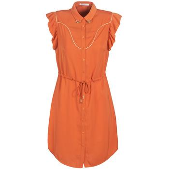 Textil Ženy Krátké šaty Les Petites Bombes AZITARTE Korálová