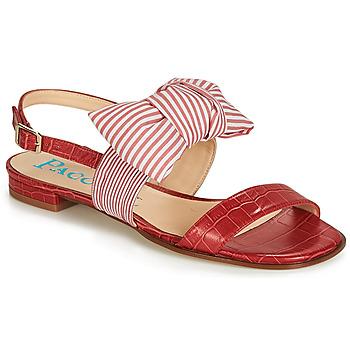 Boty Ženy Sandály Paco Gil BOMBAY Červená