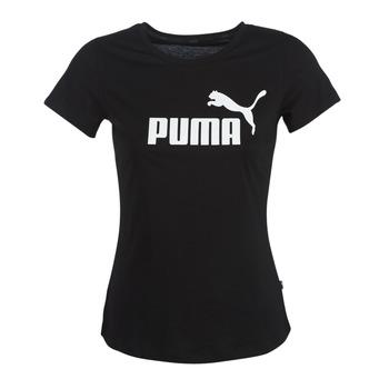Textil Ženy Trička s krátkým rukávem Puma PERMA ESS TEE Černá
