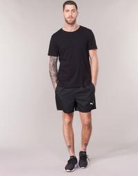 Textil Muži Kraťasy / Bermudy Puma WOVEN SHORT Černá