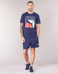 Textil Muži Kraťasy / Bermudy Puma WOVEN SHORT Tmavě modrá