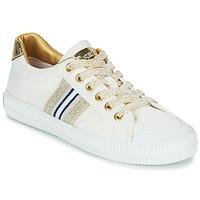 Boty Ženy Nízké tenisky Replay EXTRA Bílá / Zlatá