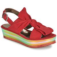 Boty Ženy Sandály Papucei CONDE Červená