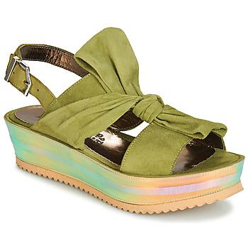 Boty Ženy Sandály Papucei CONDE Zelená