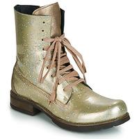 Boty Ženy Kotníkové boty Papucei JANET Zelená / Béžová