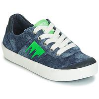 Boty Chlapecké Nízké tenisky Geox J KILWI BOY Modrá / Zelená