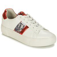 Boty Ženy Nízké tenisky Refresh 69954 Bílá / Červená