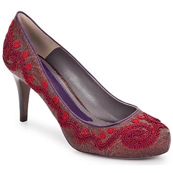 Boty Ženy Lodičky Etro BRIGITTE Červená