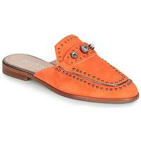 Boty Ženy Dřeváky Dorking 7783 Oranžová
