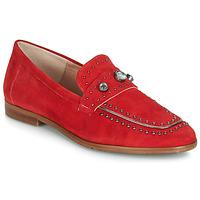 Boty Ženy Mokasíny Dorking 7782 Červená