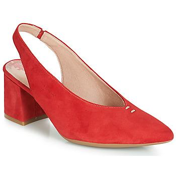 Boty Ženy Lodičky Dorking 7806 Červená
