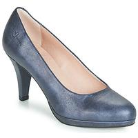 Boty Ženy Lodičky Dorking 7118 Tmavě modrá