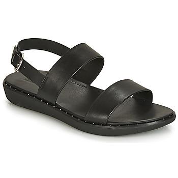 Boty Ženy Sandály FitFlop BARRA Černá