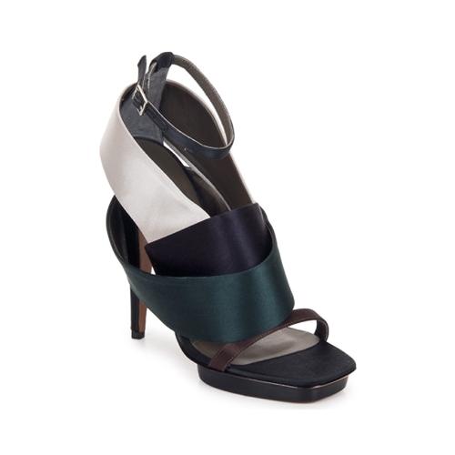 Boty Ženy Sandály Kallisté NU-PIED 5801 Stříbrná