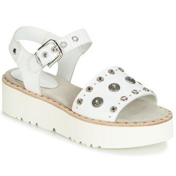Boty Ženy Sandály Now 5435-476 Bílá