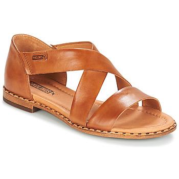 Boty Ženy Sandály Pikolinos ALGAR W0X Velbloudí hnědá