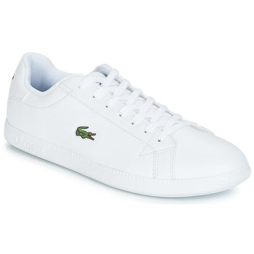 Boty Muži Nízké tenisky Lacoste GRADUATE BL 1 Bílá