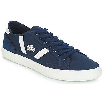 Boty Muži Nízké tenisky Lacoste SIDELINE 119 1 Tmavě modrá / Bílá