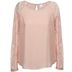 Textil Ženy Halenky / Blůzy Vero Moda REAL Růžová