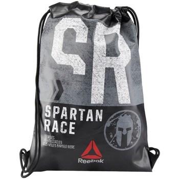 Taška Batohy Reebok Sport Spartan Race Gymsack Černé, Šedé