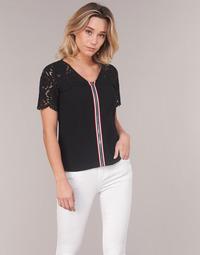 Textil Ženy Halenky / Blůzy Morgan OSALI Černá
