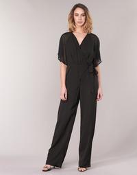 Textil Ženy Overaly / Kalhoty s laclem Smash BLAKELY Černá