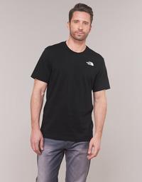 Textil Muži Trička s krátkým rukávem The North Face MEN'S S/S REDBOX TEE Černá
