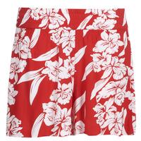 Textil Ženy Kraťasy / Bermudy Volcom ALOHA HA SHORT Červená