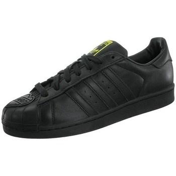 Boty Muži Nízké tenisky adidas Originals Superstar Pharrell Supershell Černé, Žluté