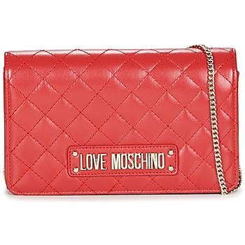 Taška Ženy Kabelky s dlouhým popruhem Love Moschino JC4118PP17 Červená