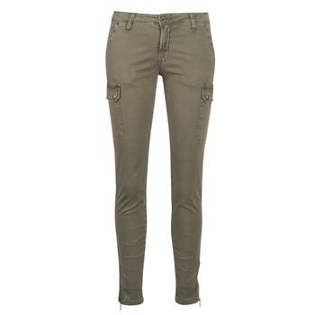 Textil Ženy Cargo trousers  Le Temps des Cerises ARMY Khaki