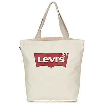 Taška Ženy Velké kabelky / Nákupní tašky Levi's Batwing Tote W Krémově bílá
