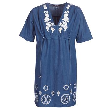 Textil Ženy Krátké šaty Desigual ELECTRA Tmavě modrá