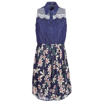 Textil Ženy Krátké šaty Desigual ALOHA Tmavě modrá
