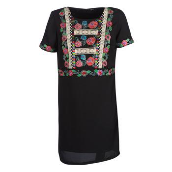Textil Ženy Krátké šaty Desigual TRALEE Černá